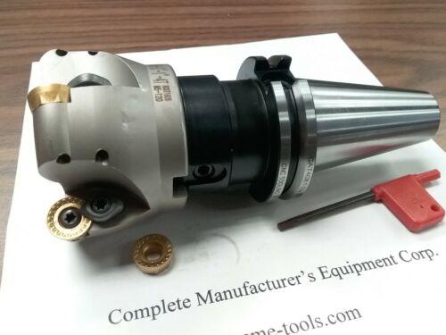 "CAT40 arbor#506-R200-3 3/"" face mill R200 w 5 Sandvik RCKT1204 Round inserts"