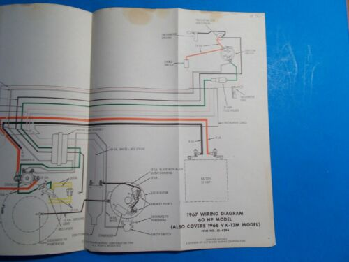 johnson 60 hp wiring on shoppinder  1967 johnson outboard wiring diagram #7