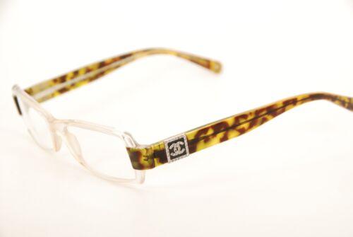 1583e7ce485d Authentic Chanel 3064-B c.763 Clear Beige/Tortoise 51mm Eyeglasses RX Italy