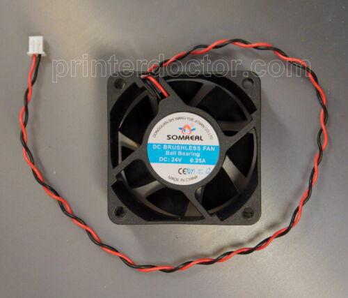 6010 Double Ball Industrial Cooling Fan 6CM Fan YY6010L24B 24V 0.08A