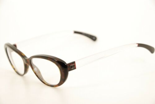 59411c8916da Authentic Chanel 3275 c.714 Havana/Clear 52mm Eyeglasses Frames RX Italy