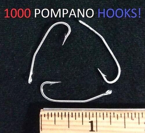 1000 Eagle Claw 500 Bronze Pro V Lil Nasty Sickle Style Jig Hooks for Molds