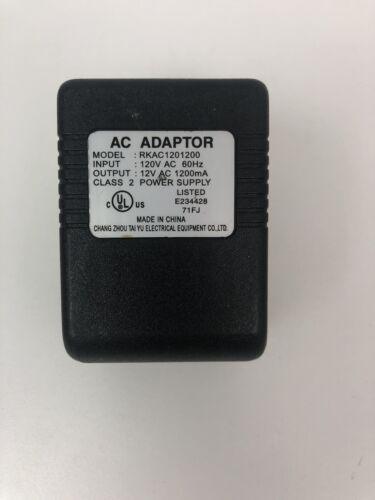 AC AC Adapter For Model QBA-12V2000-IP44 QBA12V2000IP44 Changzhou Qibo 12VAC