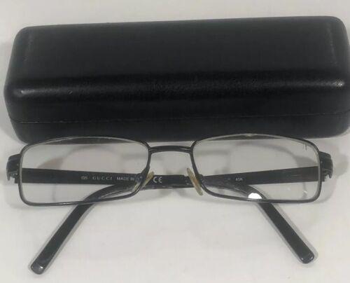121715fa25cc9 Gucci Eyeglass Frames Eyeglasses Made In Italy 135 GG 1815 45K 135