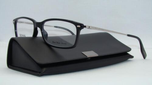 86829c1947 Hugo Boss 0549 CSA Black +Org Case Brille Glasses Frames Eyeglasses Size 52
