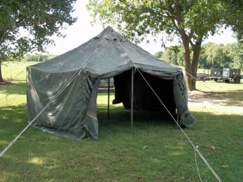 Used canvas tent on Shoppinder