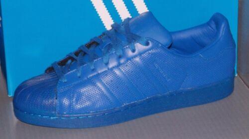 separation shoes e0ee9 e5b14 MENS ADIDAS SUPERSTAR ADICOLOR in colors BLUE   BLUE   BLUE SIZE 11.5