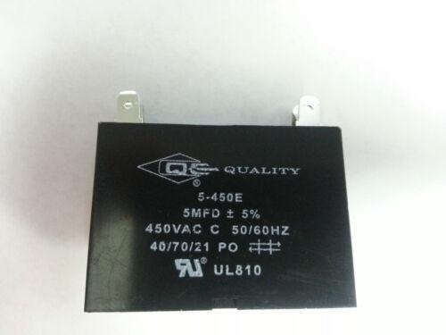 50//60HZ - 1.0 mfd 1.0 uf Mini Split Capacitor 450V 4 Terminal 1