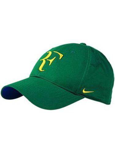 Nike RF Roger Federer Hat Cap Green Brazil 371202-302 Limited Edition Rare 0174cff4f9ff