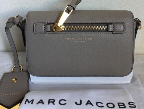 673de07b3859 NWT Marc Jacobs Recruit Leather Crossbody Bag  295 Mink Original Packaging