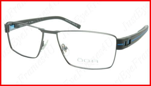 8163c86cf95d OGA Morel Eyeglasses Frame 7921O GG042 Metal Acetate Blue France 57-16-140,