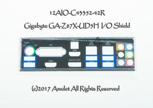 NEW I//O IO BLENDE SHIELD backplate for GIGABYTE GA-EX58-UD4P