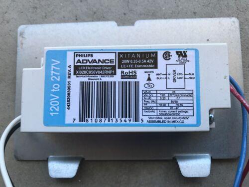 Phillips Advance Xitanium Led Electronic Driver LEDINTA00224V41FO
