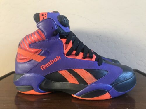 fcd94e36912 Reebok Pump Shaq Attaq Phoenix Suns Basketball Sneakers V61029 Men s Size  8.5