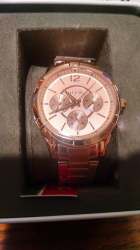 29b23000df93 Relic by Fossil Women  s Zr15698 Rose Gold Watch – NEW
