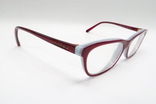 34ce796765e Tiffany   Co. TF 2078 Rx Eyeglasses Frames 8167 Cherry Red Blue 53