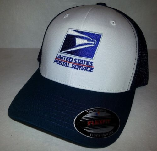 Clothing, Shoes & Accessories Hats USPS POSTAL NAVY & WHITE