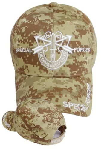 2c20a13975805 US Army SPECIAL FORCES Ball Cap Green Beret Ranger Airborne De Oppresso  Liber DC
