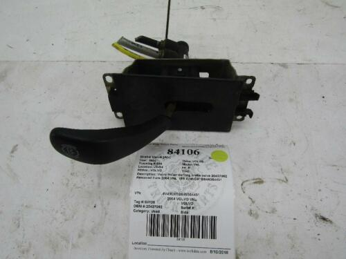 Park brake valve on Shoppinder