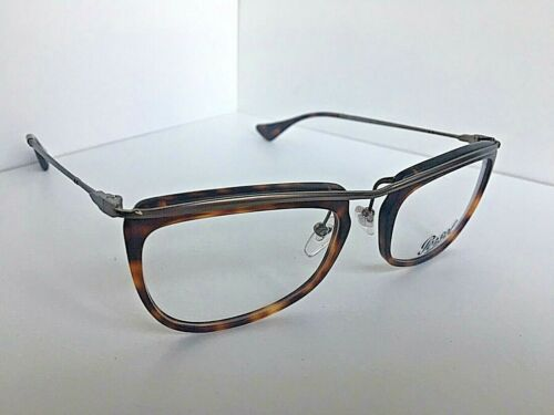 58ba80b4a8679 Vintage Persol Tortoise 51mm Rx Eyeglasses Frame Hand Made in Italy